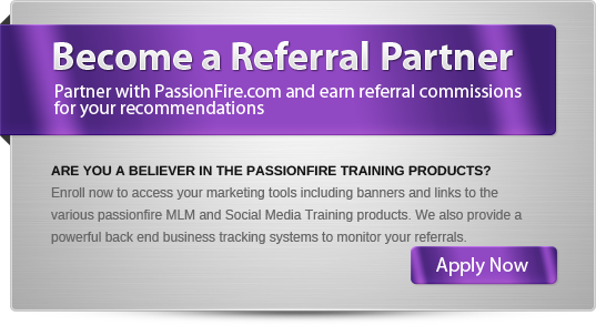 Join the PassionFire Referral Partner Program