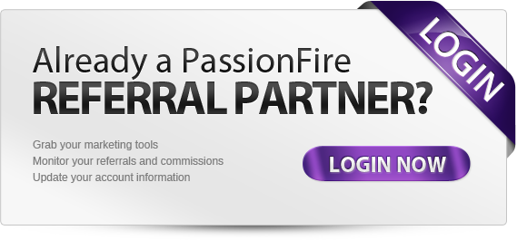 PassionFire Referral Partner Login