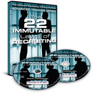 22 Immutable Laws of MLM Recruiting by Doug Firebaugh