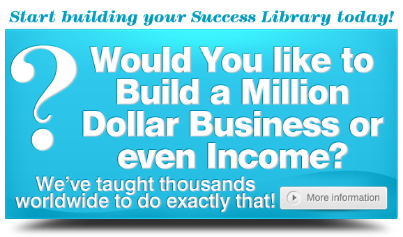 Would You Like to Build a Million Dollar Business or Even Income? MLM Home Business Training Resources