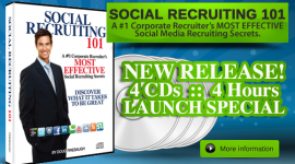 Social Recruiting 101 – Launch Special!