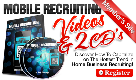 Mobile Recruiting 2 CD Series by Doug Firebaugh
