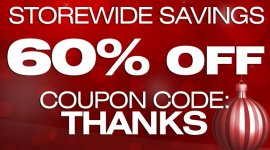 60% Off Storewide Savings