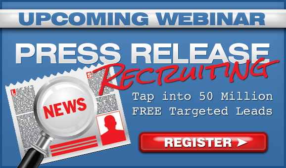 Press Release Recruiting - How to Find Targeted MLM Leads Online
