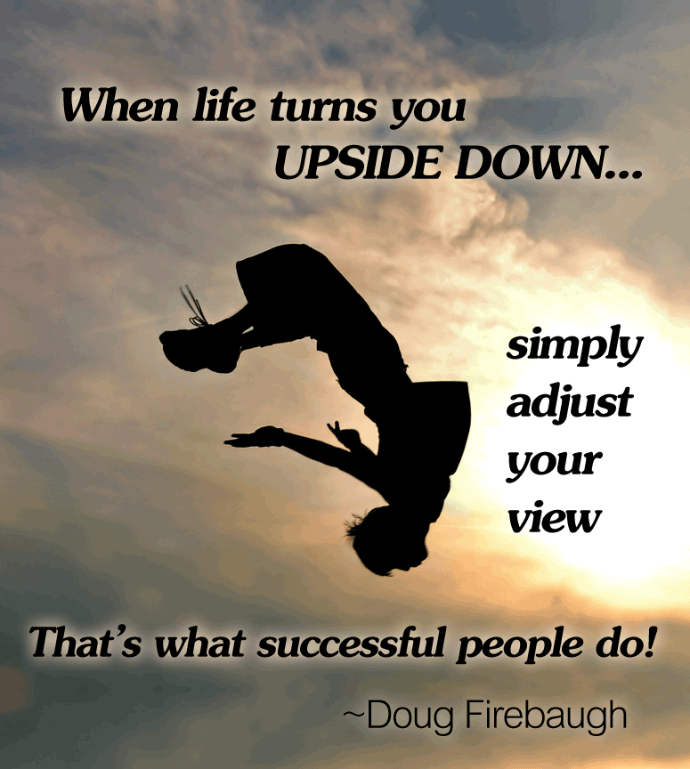 Upside Down MLM Network Marketing Home Business Motivation by Doug Firebaugh