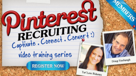 Pinterest Recruiting MLM Home Business Training by Doug Firebaugh with Tar'Lese Rideaux