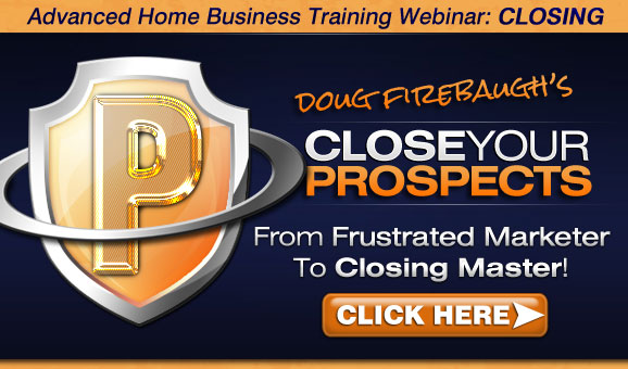 MLM Training - Close Your Prospects Webinar and Member's Training