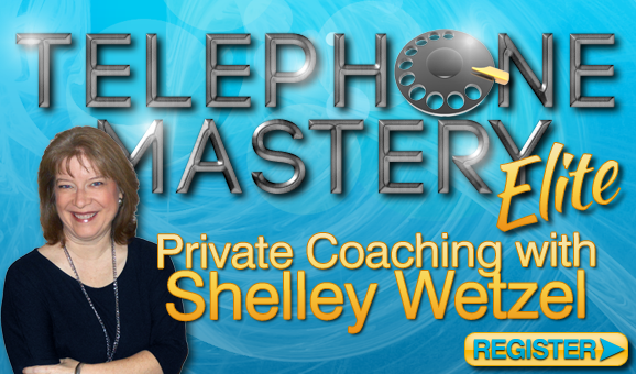Telephone Mastery Elite MLM Phone Coaching with Shelley Wetzel