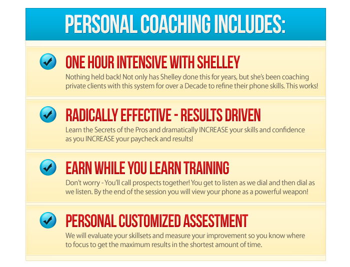 MLM Personal Coaching with Shelley Wetzel