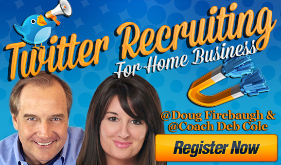 Twitter Recruiting For MLM Home Business Entreprenuers